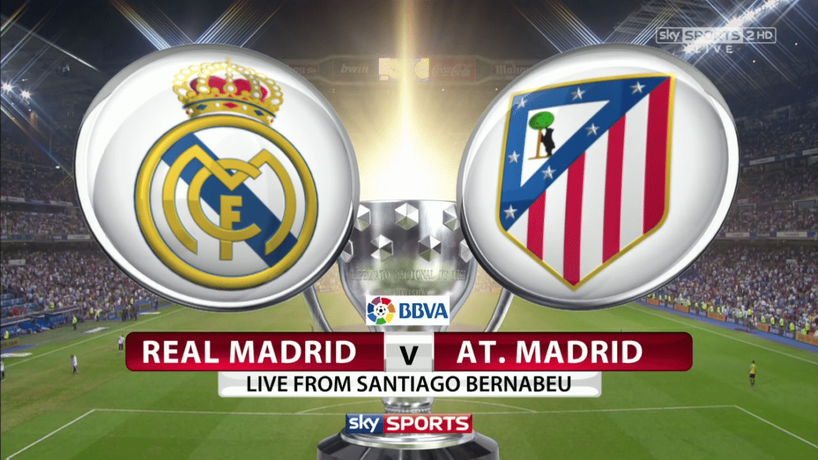Real Madrid Vs Atletico Madrid Logo