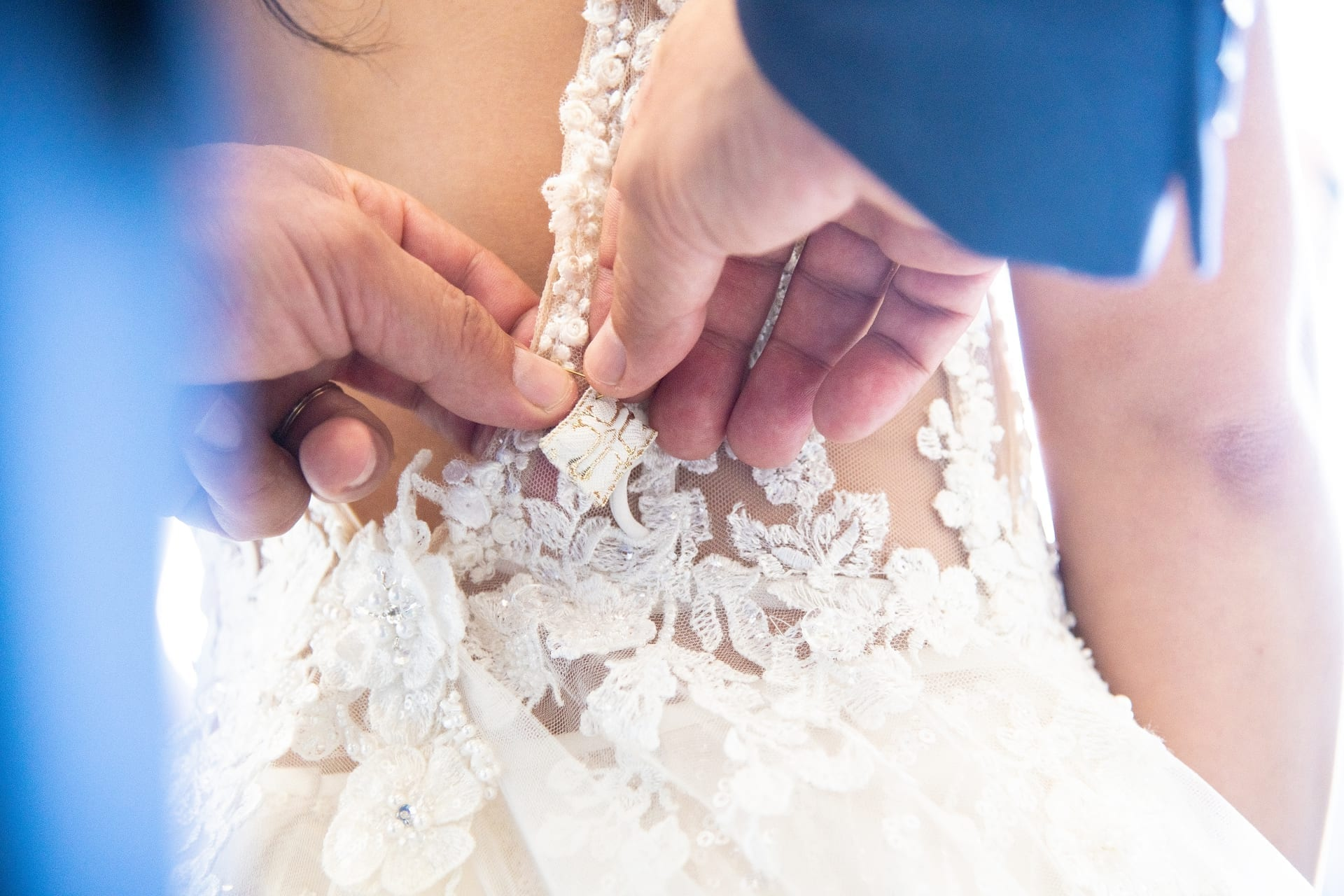 Wedding Dress Details, Vogdanidis + Sons
